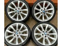 BMW 1 series M Sport 18 inch Alloy Wheels 5 x 120 Genuine Staggered Style 217 | E81 E82 E87 E88 LCI