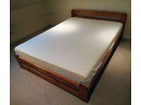 King Size Bed & Foam Mattress