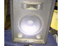 Watson 12 inch passive speaker box is in good working condition