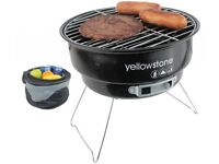 SMALL SIZE FOLDING BBQ WITH COOLER BAG