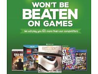 WANTED - Sell Your Games PS3 PS4 Xbox One Xbox 360 Wii DS PSP Vita - BEST PRICES PAID