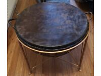 Large Drum on Metal Stand