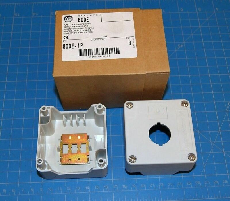 "AB 800E Electrical Enclosure NEMA 4,4X,12 2.75"" Cube W/ Knockout New in Box"