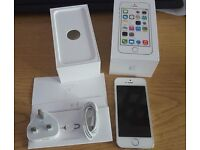 Boxed White/Silver IPhone 5s