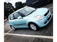 Blue 5dr suzuki swift, full service history, only 71000 miles
