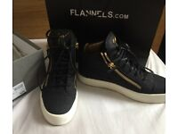 Womens Giuseppe Zanotti Matte-croc embrossed sneakers UK size 6 (worn once)