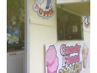 Sweet Catering Trailer, slush puppie, candy floss, popcorn machines, buisiness in a box, BARGAIN