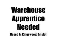 Apprenticeship in Warehousing - Based in Kingswood, Bristol