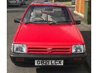 Nissan micra 1989 tax and mot bargain £1200