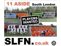 Players wanted for South London Football Team. Play football in Earlsfield, Clapham, gh345