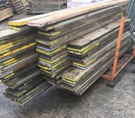 Used ~ Scaffold Boards