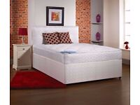**AVAILABLE IN LOW BUDGET**King Size Divan Bed With Orthopaedic Mattress/Double/Single Bed Available