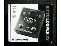 DITTO X2 LOOPER - AS NEW - PERFECT CONDITION.