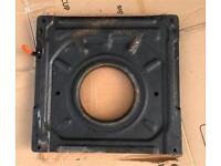 VW T4 TRANSPORTER SEAT SWIVEL BASE - AS NEW - SMOOTH OPERATION