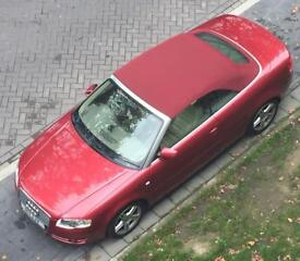 2007 Audi A4 2.0 TDI , convertible, cabriolet, facelift, full cream leather,