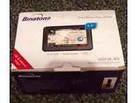 Binatone satellite navigation system