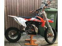 KTM SX50 small and big wheel