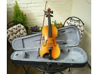 3/4 Violin Outfit. Set up and ready to play.