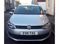 2011 VW POLO 1.2 TDI! ONLY 70800 MILES! 8 MONTHS MOT! CHEAP TAX AND INSURANCE