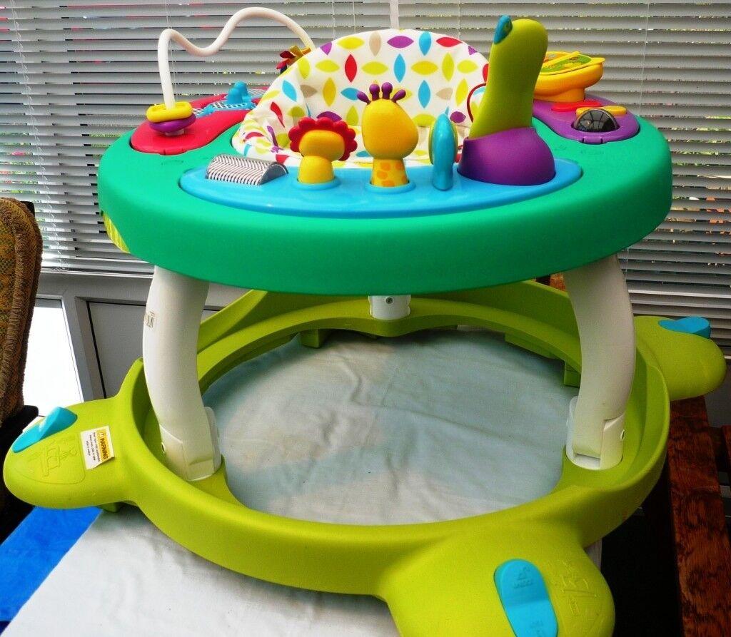258d41e13 Mothercare Multicoloured Spots Hoola Walk Around 2 in 1 - Baby ...