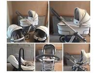 Bebecar hip hop pram pushchair travel system