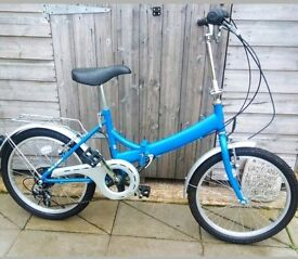 Adults FOLDING bicycle. Raleigh. .vgc