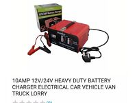 12v 10 amp heavy duty battery charger