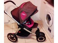 Maxi-Cosi Mura 3 Pushchair Buggy + 2 Walkers and 2 activity toys