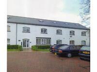 STUNNING converted riverside mill - large 1-bed flat, beautiful modern gated development £1200 pm