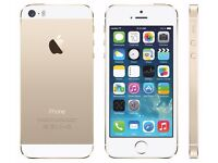 I phone 5s/Gold / brand new/ fully boxed