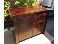 Dark Mango Hardwood Sideboard - New / Unused