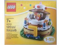 LEGO BIRTHDAY CAKE DISPLAY AGE 1 to 99 BNISB