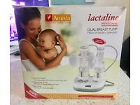 Lactaline dual breast pump