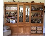 Very good quality, solid wood cabinet for sale. Collection only.