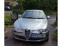 Alfa Romeo 147 Lusso T Spark 5 Door 2.0 L Petrol (More photos to follow)