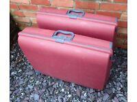Carlton Hardcase Plastic Suitcase x 2