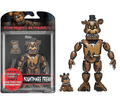 FNAF Five Nights At Freddy's NIGHTMARE FREDDY Action Figure Brand New