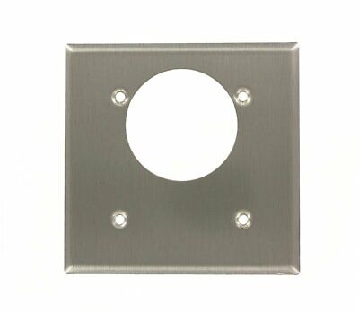 Leviton 84022 2-Gang Flush Mount 2.15-Inch Diameter, Offset Device Receptacle Gang Flush Mount