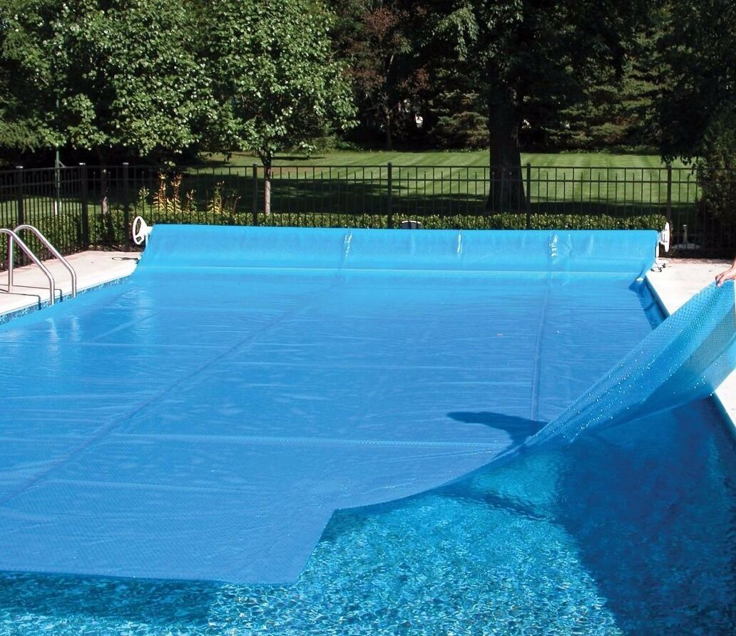 Inground Swimming Pool Rectangular Round Solar Blanket Cover Tarp 12 Mil