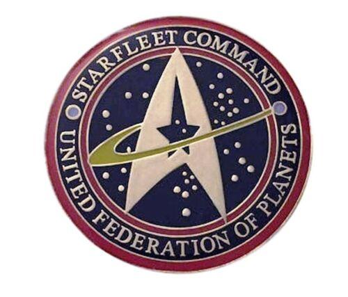 Star Trek Starfleet Command United Federation of Planets Enamel Metal Pin