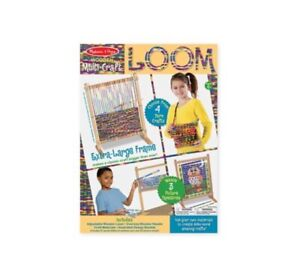 New in Box Melissa & Doug Multi - Craft Weaving Loom Toy