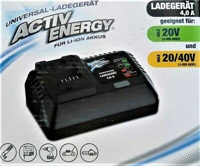 Activ Energy Universal Akku-Ladegerät für Werkzeuge