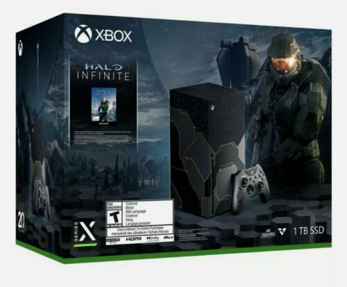 Xbox Series X Halo Infinite Limited Edition Confirmed Preorder SHIPS 11/16 - $999.00