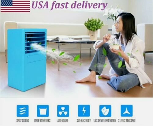 18W Portable AC Air Conditioner Personal Unit Cooling Fan Hu