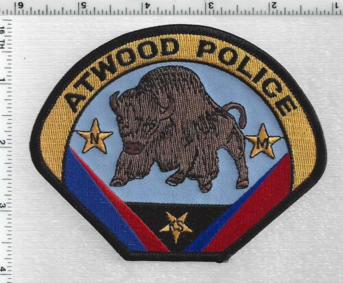 Atwood Police (Kansas) 1st Issue Shoulder Patch