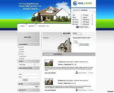 Buy cheap property listings website online business for sale real estate agent agency