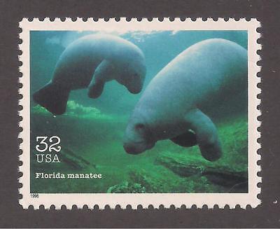 FLORIDA MANATEE - ENDANGERED SPECIES - U.S. POSTAGE STAMP - MINT CONDITION