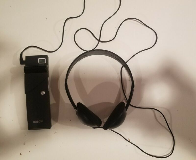 Bosch Integrus Pocket Receiver 32 Channel LBB4540/32 & Bosch Headphones