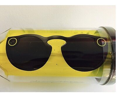 Spectacles Snapchat Glasses . Black . BRAND NEW