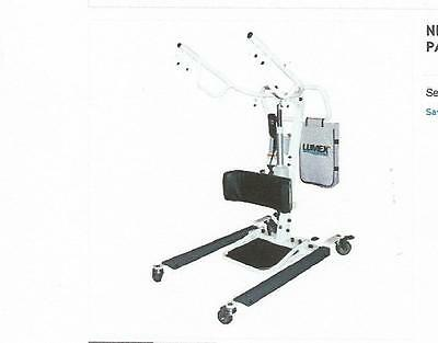 NEW LUMEX LF2020 EASY LIFT STS SIT TO STAND ELECTRIC PATIENT LIFTER WITH SLING - Lumex Easy Lift